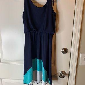Bomb Navy Blue Dress